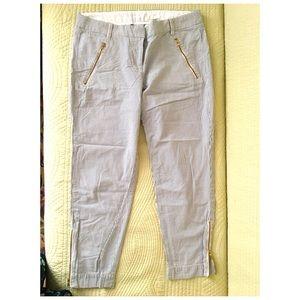 JCrew CityFit Cotton pants